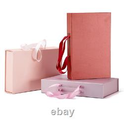 100x Wedding Birthday Baby Shower Apparels Collapsible Magnetic Closure Gift Box