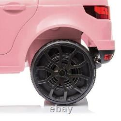 12V Kids Ride On Car Truck Electric Toy Birthday Gift Pink with Remote Control