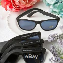150 Personalized Black Sunglasses Wedding Bridal Shower Party Gift Favors