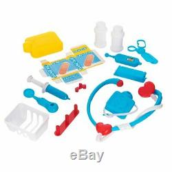 17pc Medical Doctor Nurse Play Box Set Ideal for Kids Xmas Birthday Gift Child