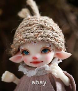 1/13 BJD ELF ear fairy cute baby doll unfinished NUDE for kids birthday gift