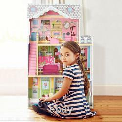 3 Layers Dreamy Dollhouse for Kids Great Gift for Birthday Christmas