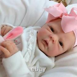 43cm Silicone Simulation Reborn Baby Doll Soft Birthday Gift Babies Doll Toy
