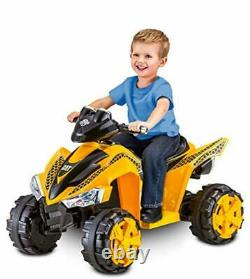 6V Electric Quad For Kids Ride On Toy Birthday Gift For 1 2 3 4 5 6 Year Old Boy
