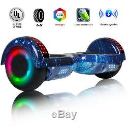 6.5 Bluetooth Hoverboard Electric Self Balancing Scooter Kids Toy Birthday Gift