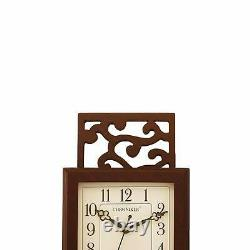 Clock Wall Wooden Gift Birthday Modern Room Decor Home Round thanksgiving day