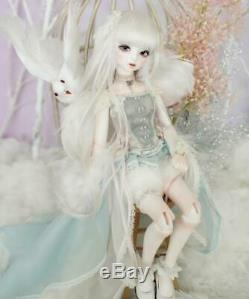 Cute 1/4 BJD Doll For Baby Girl Birthday Gift With Make Up Handmade Joint Dolls
