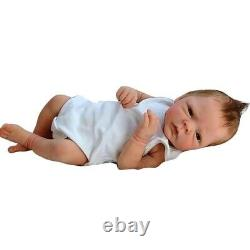 Cute Silicone Simulation Reborn Baby Handmade Gift House Birthday Doll Bedtime