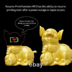 DIY Resume Printer with LCD Touch Screen 3D Printing For Kids Toy Birthday Gift