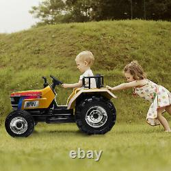 Electric Car 12V Kids Ride On Tractor Birthday Gift with Remote Control 3 speeds
