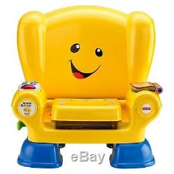 Fisher Price Laugh & Learn Smart Stages Chair Yellow Kid Christmas Birthday Gift