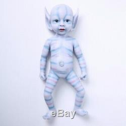 Girl Playmate Toys Birthday Gift 39cm Lifelike Elf Doll Silicone Doll Waterproof