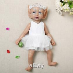 IVITA15 High Quality Silicone Elf Doll Children Playmate Toys Birthday Gift