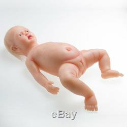 IVITA Rooted Hair Silicone Reborn Baby Doll Lifelike Doll Birthday Gift for Kids