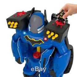 Imaginext DC Super Friends Batbot Xtreme Over 2Ft Tall Robot Wings Birthday Gift