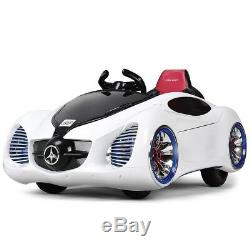 Kids Baby Boy Powered Kids Remote Control Ride Car with MP3 Toy Birthday Gift US