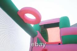 Kids Birthday Party Gift Inflatable Bounce House Fun Slide Jumping Bouncy Castle
