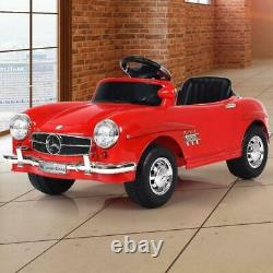 Kids Mercedes Benz 300SL Ride Car with Remote Control Christmas Birthday Gifts