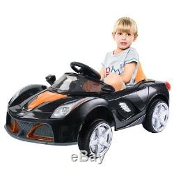 LED Lights Battery Powered Kids Riding Car Birthday Toy Best Gift 12V RC US New