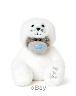 Me to You White Seal Tatty Teddy Bear perfect gift for all ages birthday, Easter
