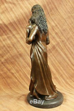 Mother`s Day Birthday Gift Mother Child Classic Artwork Museum Quality Bronze