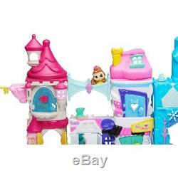 NEW Disney Doorables Mega Stack Build Playset Surprises Elsa Belle Birthday Gift