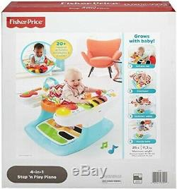 NEW Fisher Price 4-in-1 Step'n­ Play Piano Playset Soft Mat Baby Birthday Gift