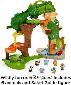 NEW Fisher Price Little People Share & Care Safari Playset Birthday Gift