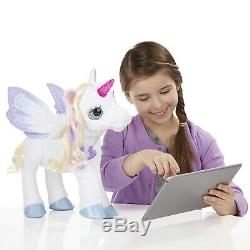 NEW FurReal Friends StarLily My Magical Unicorn Interactive Pet Birthday Gift