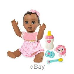 NEW Luvabella Brunette Baby Doll Interactive Toys Christmas Birthday Gift
