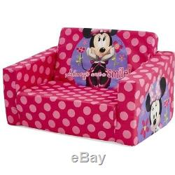 NEW Minnie Mouse Kids Flip Out Sofa Bed Lounge Bedroom Decoration Birthday Gift