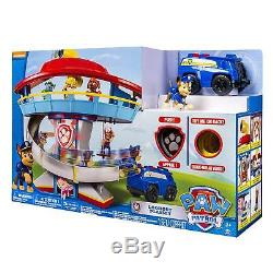 NEW Paw Patrol Lookout Pretend Playset Chase Vehicle Christmas Birthday Gift