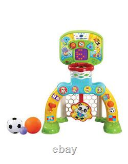 NEW Vtech Baby 3-In-1 Sports Centre Learning Playset Christmas Birthday Gift