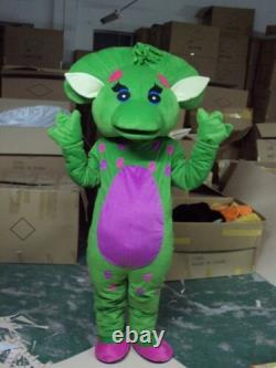 New Baby Bop Mascot Costume Adult Size free shipping Cosplay Birthday Kid Gift