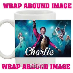 Personalised The Greatest Showman Your Name 10oz Mug Kids Adults Birthday Gift