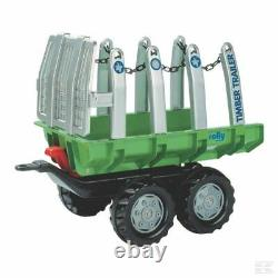 Rolly Kids Timber Trailer Ride On Childrens Christmas Gift Birthday
