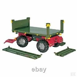 Rolly Kids Tipping Trailer 2 Axles Ride On Childrens Christmas Gift Birthday