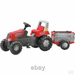 Rolly Kids Tractor With Trailer Ride On Childrens Christmas Gift Birthday