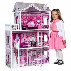 Tall Doll House Isabelle's Birthday Present Girls Kids Gift Play Imagination