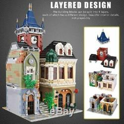 The Brickstive Old Town Pub Building Blocks Toys Best Birthday Gifts 4030 Pieces
