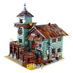 The Old Fishing Store 2109 psc Set Building Blocks for Kids Birthday Toys Gifts