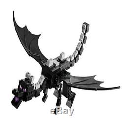 Toy Kids Building Lego Minecraft 21117 The Ender Dragon Gifts Birthday
