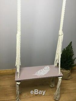 Unique indoor swing for kids and adults, Birthday gift idea