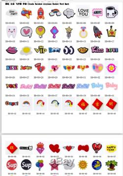 Wholesale 1000pcs PVC Shoe Charms Accessory fit Sndals Wristbands Birthday Gifts